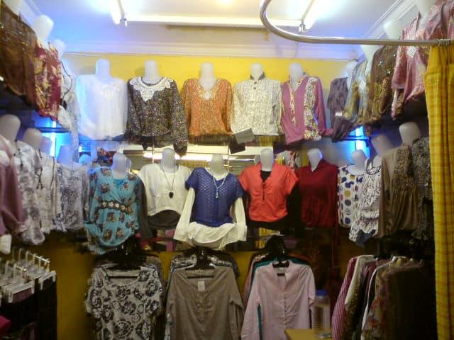 Toko Baju di Bandung