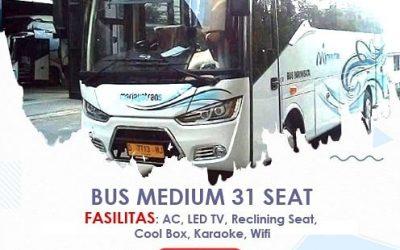 Rekomendasi Sewa Mobil Bus BandungTahun ini                                        5/5(1)